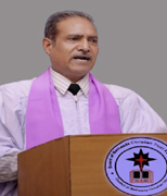 Rev. Dr. Mohan Lal  M.A,B.Ed,B.Th,Ph.D  Founder & President